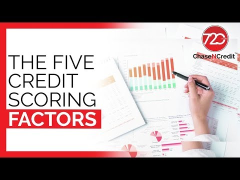 The Five Credit Scoring Factors