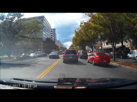 Tesla Model X driver (accidentally?) tests acceleration on K St.