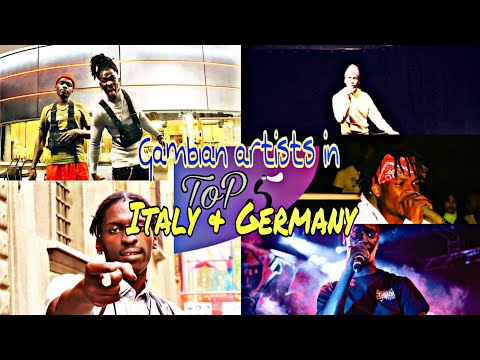 Top5 Gambian Artists Based in Italy and Germany