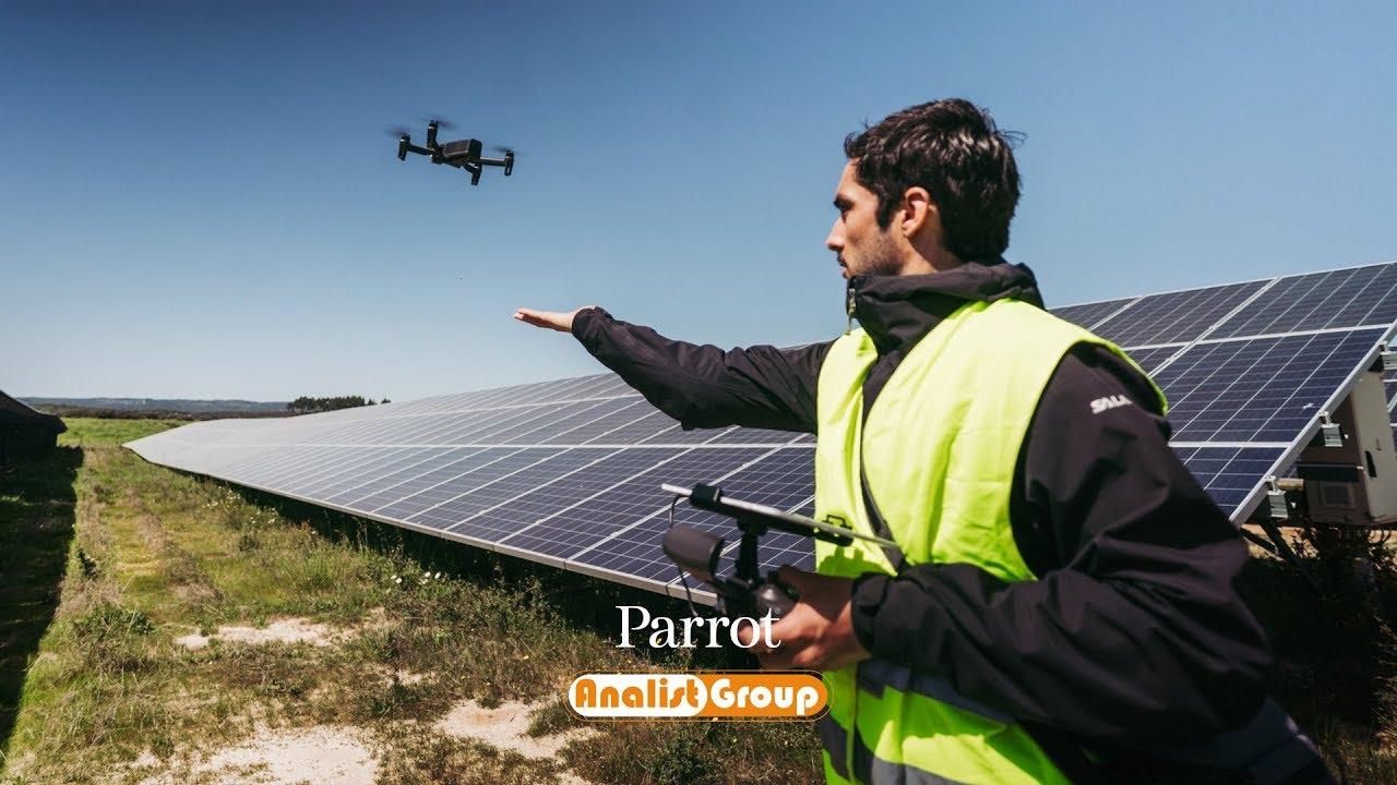 Parrot Anafi Thermal -Drone ultra-compatto con doppia Camera (IR + RGB)