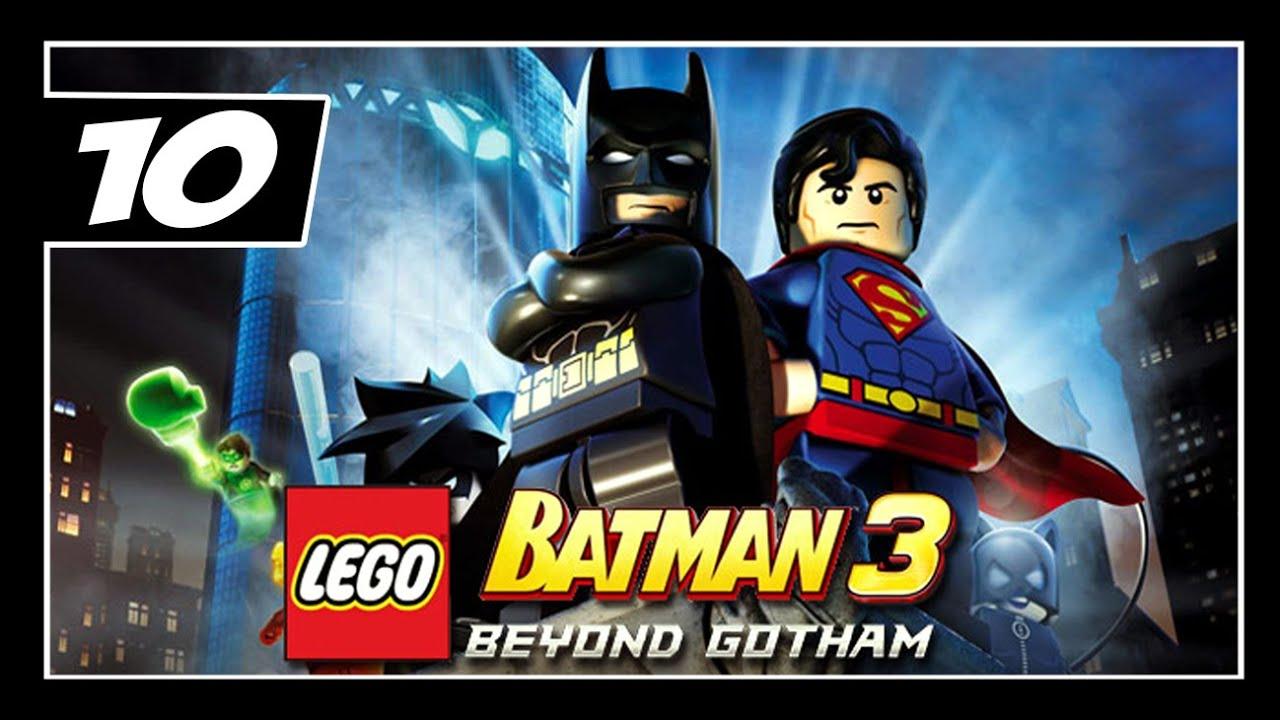 Lego Batman 3 Beyond Gotham Detonado Parte 10 Dublado Em