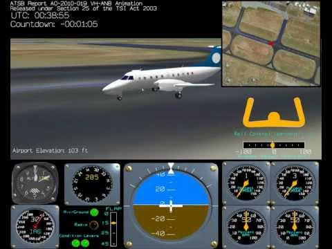 ATSB animation of Embraer 120 loss of control accident
