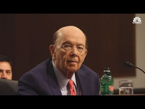 Commerce Secretary Wilbur Ross on China trade, cybersecurity