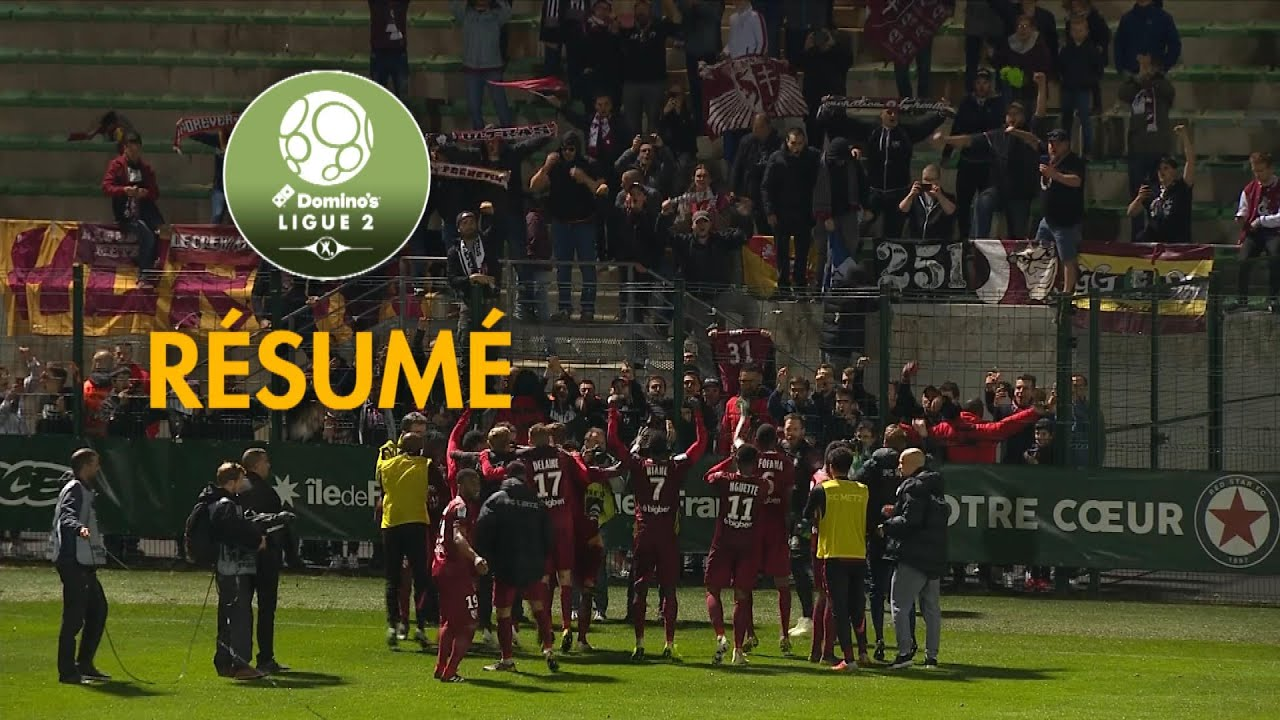 red star fc - fc metz   1-2   - r u00e9sum u00e9 -  red