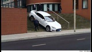 Tesla Unbelievable Crash Compilation