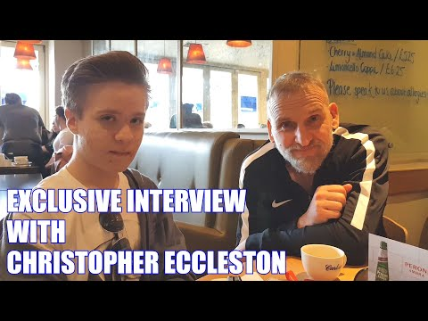 I did an EXCLUSIVE  with actor Christopher Eccleston