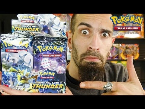 Booster Box Game - Pokemon Lost Thunder Opening