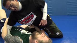 Sitting Guard X Arm Sweep vs Standing Opponent