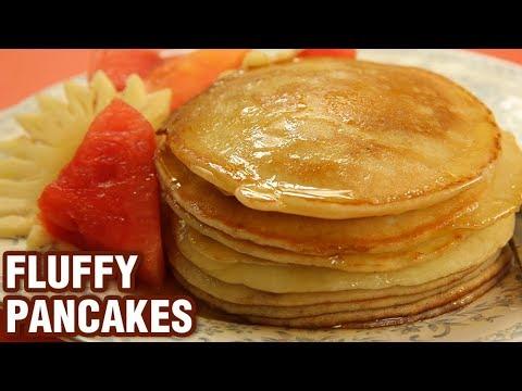 fluffy-pancake-recipe---5-ingredients-pancake---breakfast-recipe---varun