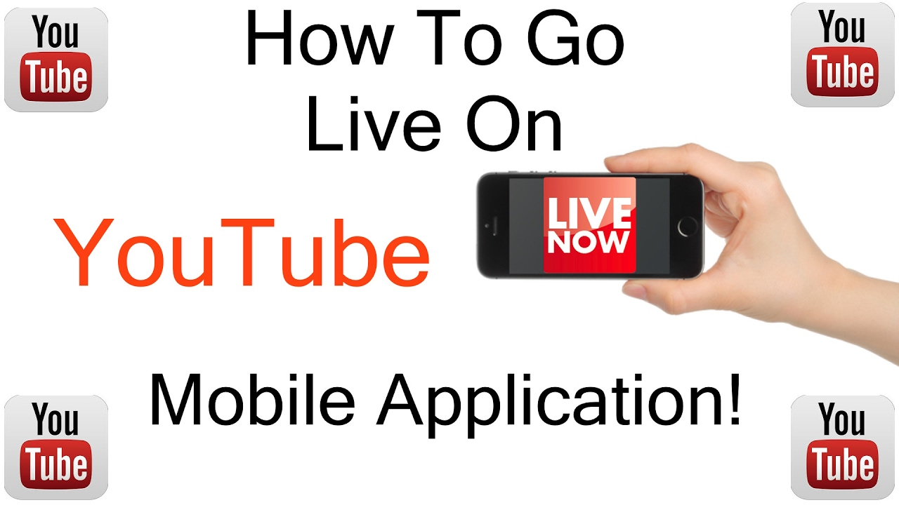 How To Go Live On Youtube Mobile App Youtube