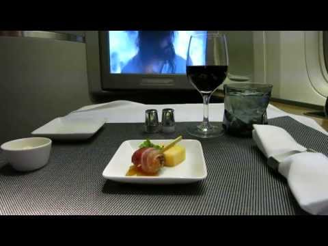 AA963 DFW-GRU American Airlines First Class Boeing 777-300ER (77W)
