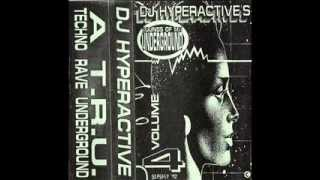 DJ Hyperactive's Sounds of the Underground Vol.4 Side-B Part-3 Old School Techno Rave Acid