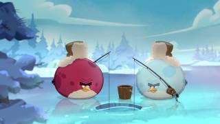 Angry Birds Seasons  On Finn Ice     Terence flies north for the holidays