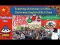 Teaching Christmas in China – English (ESL) Class