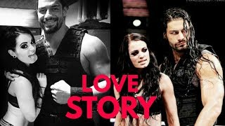 Roman Reigns And Paige Love Story || WWE Superstars || HD Video || 2017