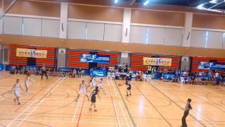 2017 全港學界籃球馬拉松 (女子組) 協恩中學 vs 寶