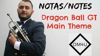 Notas Dragon Ball GT | Main Theme HD