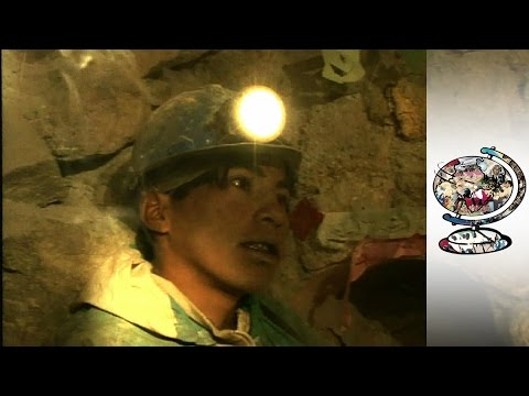 There Are Thousands Of Child Miners In Bolivia