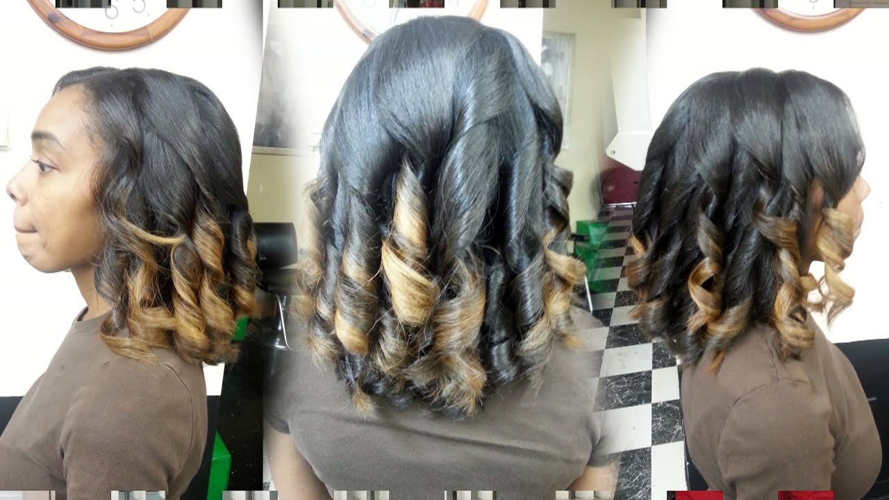 465 Flat Iron Spiral Curls Demo Thegriynthumb Salon