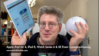 Apple iPad Air 4, iPad 8, Watch Series 6 & SE Event Zusammenfassung