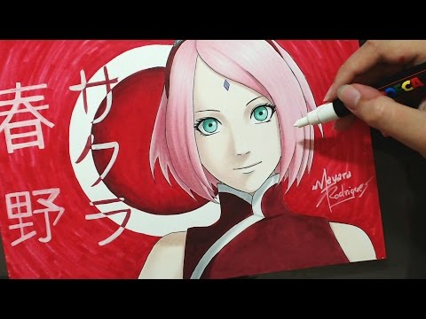 Speed Drawing - Haruno Sakura