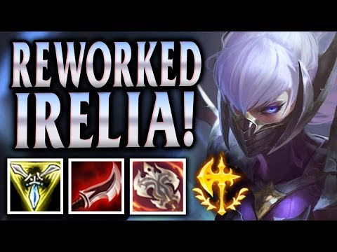 New Irelia Rework! The Blade Dancer - Nightblade Irelia Jungle - League of Legends Commentary