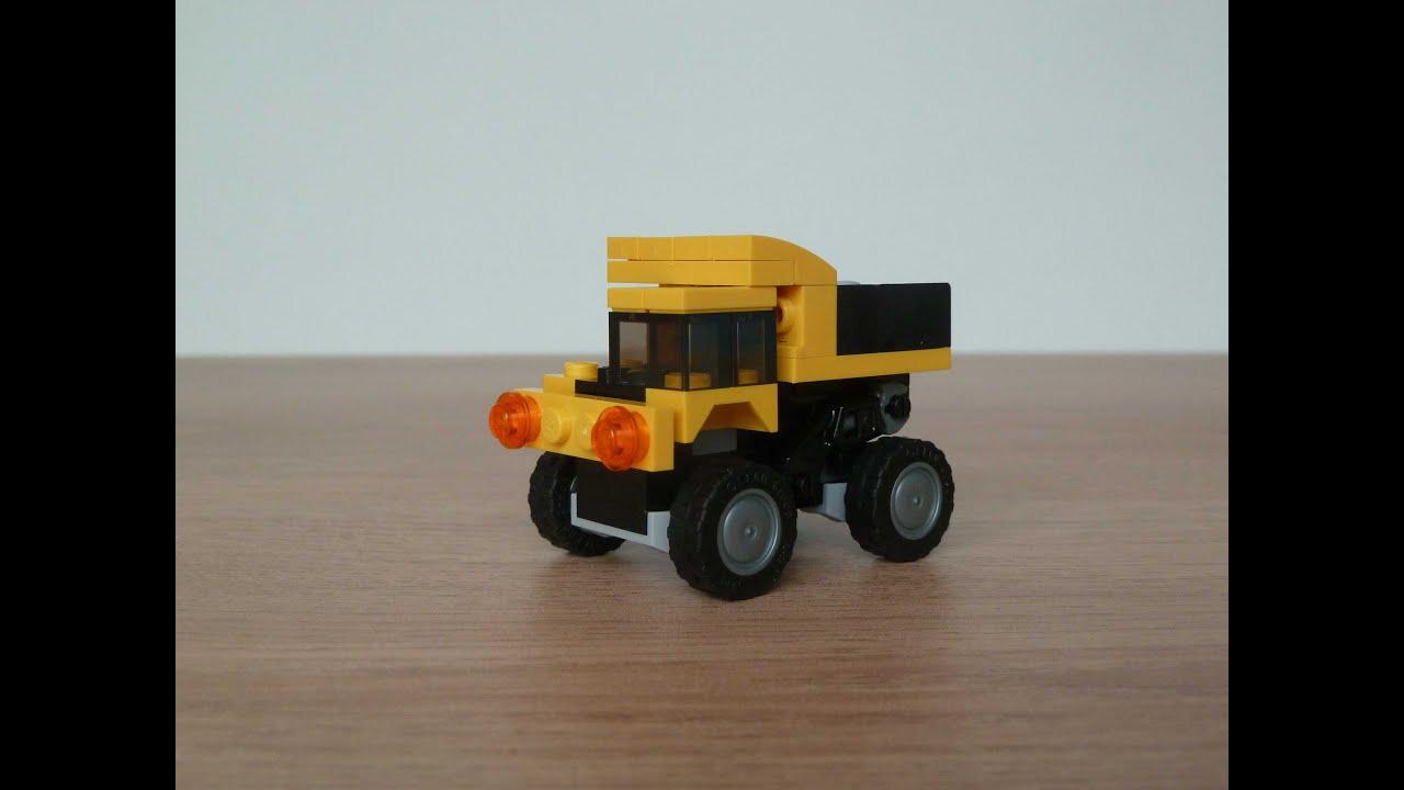dump truck lego instructions
