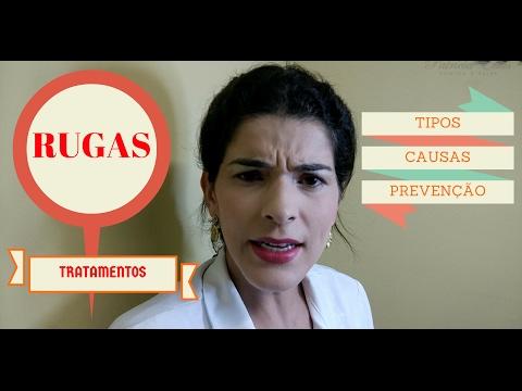 Rugas - Tipos, causas, tratamentos, cuidados e prevenção | Patrícia Elias | Estética e Saúde