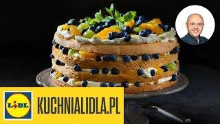 Tort owocowy z bitą śmietaną - Paweł Małecki - Przepisy Kuchni Lidla