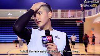 [ENG SUB] 160211 Sina interviews Wu Yifan before NBA All Star Celebrity Game