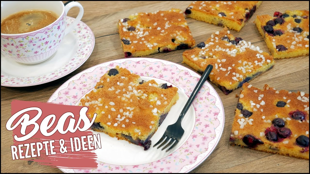 Schneller Blechkuchen Rezept Mit Tassen Mass Saftig Backen Youtube