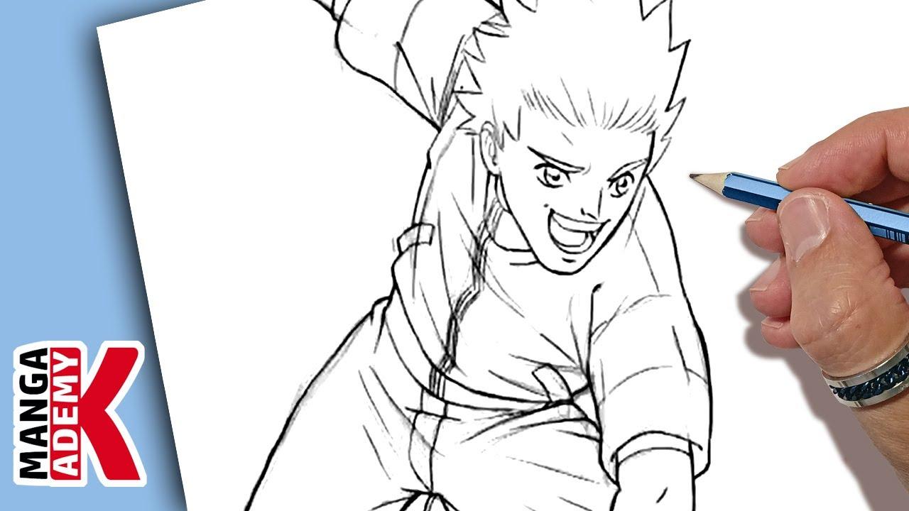 Comment dessiner un personnage manga youtube - Dessiner un manga ...