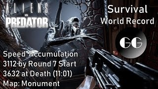 AVP 2010 Word Record Survival Speed Point Accumulation On Monument