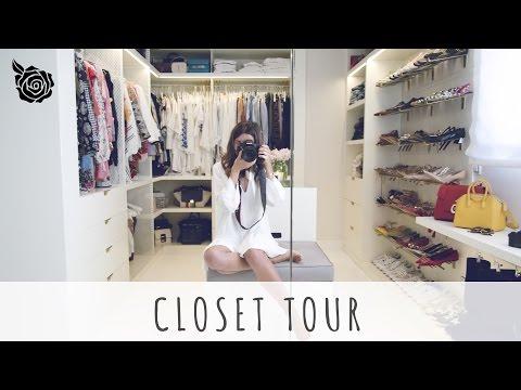 CLOSET TOUR   ALEXANDRA PEREIRA