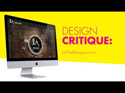 Critiquing Your Design: ImThatDesigner.com