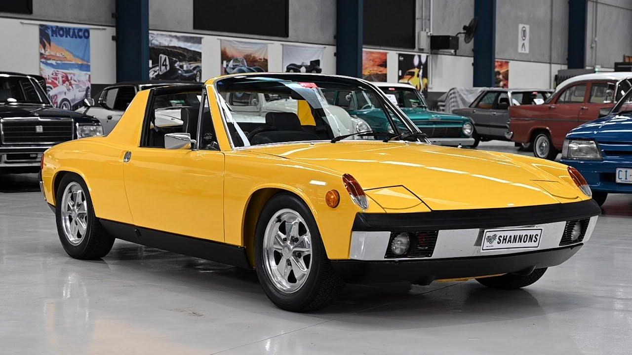 1970 Porsche 914-6 2.4 'Targa' Coupe (RHD) - 2019 Shannons Melbourne Spring Classic Auction
