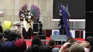 Cosplay Groupe St Seiya Hypnos et Thanatos - Épitanime 18 (mai 2010)