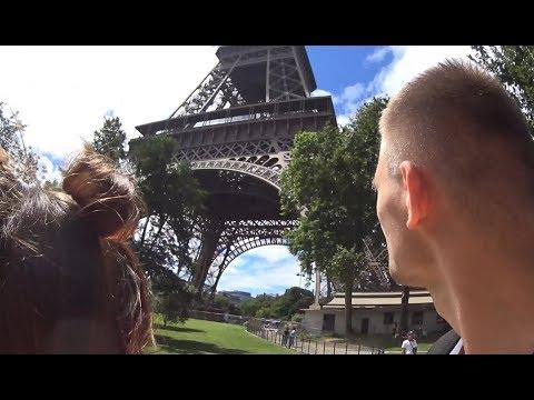 Paris HORROR FUN VLOG (Allbars Games, Fyzio, Center, Moulin Rouge, Airport..)
