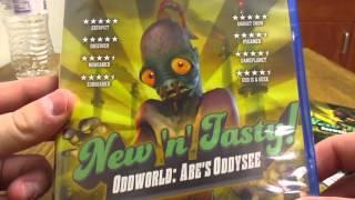 unboxing new n tasty oddworld abe s oddysee
