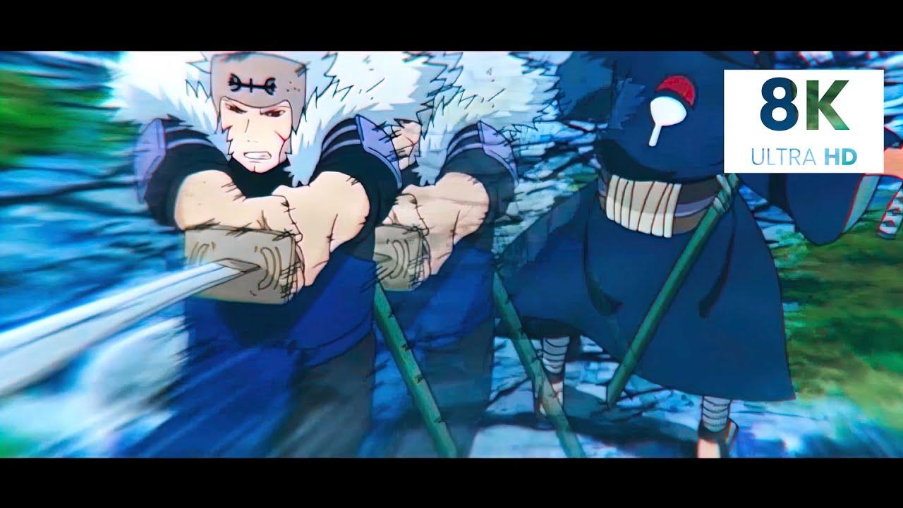「 8K Naruto Quality AI UPSCALED 」 Tobirama x Heaven