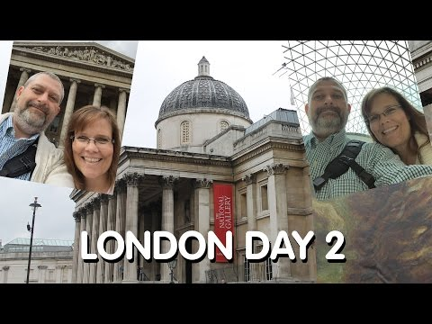 London Day 2: National Gallery, British Museum, Covent Garden, Soho & Tube Ride with Transfer