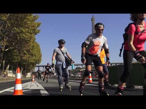 Paris Rollers. Premier Marathon 2017. Paris/France - 15 Octobre 2017