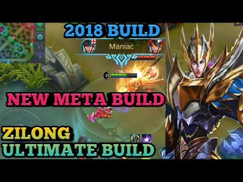ZILONG UNSTOPPABLE BUILD | 100% BEST BUILD | ZILONG LATEST BUILD | ML ZILONG 2018 BUILD