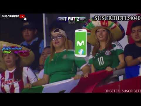 Mexico vs Honduras 2-3 Goles y Resumen Eliminatorias (Rusia 2018)