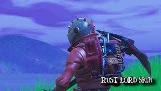 Rust Lord Skin Fortnite