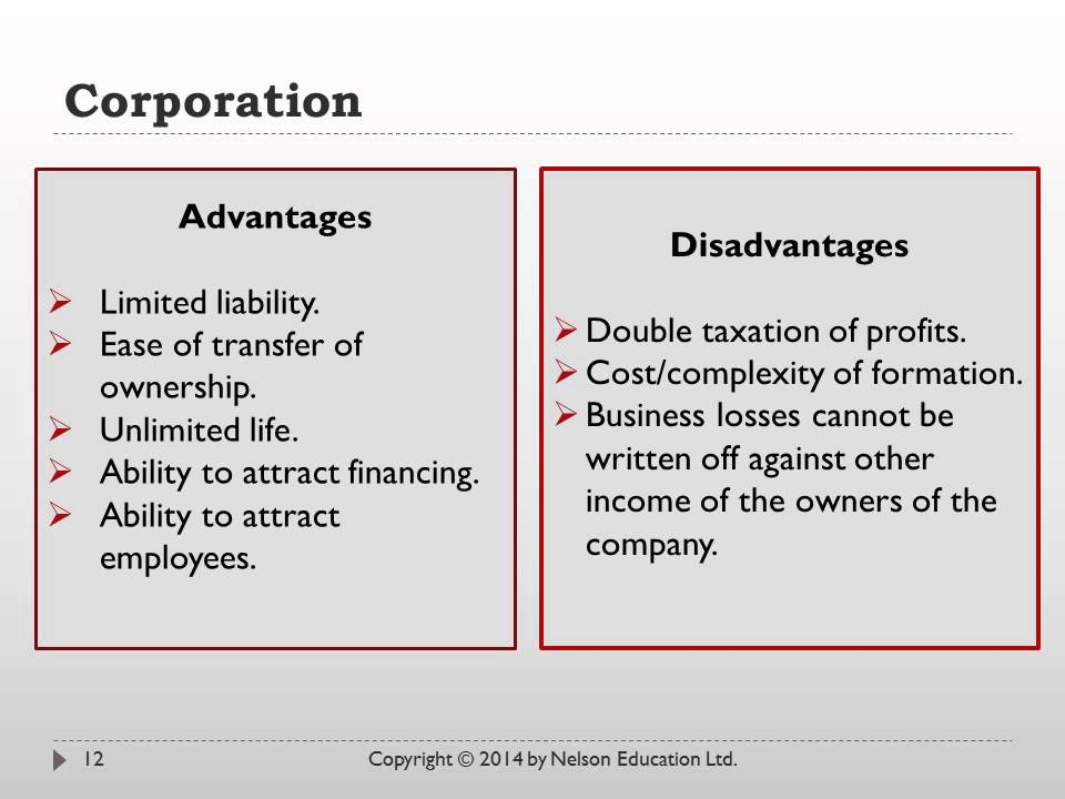 Chapter 8 Forms of Business Organization - YouTube