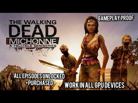 How To Download Walking Dead Michonne All Episodes Unlocked+Purchased 100%working With Gameplay