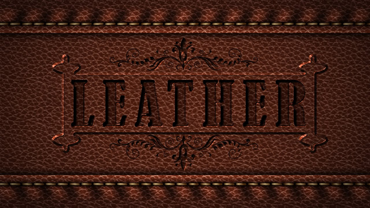 How To Make Embossed Letters In Photoshop