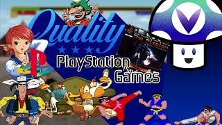 [Vinesauce] Vinny - Quality PS1 Games