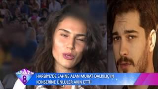 Harbiye'de Sahne Alan Murat Dalkılıç'ın Konserine Ünlüler Akın Etti